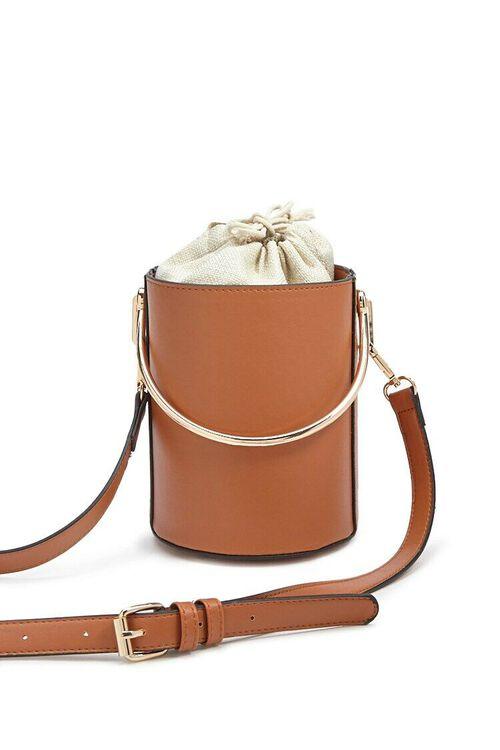 Faux Leather Satchel, image 5