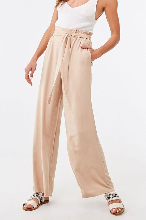 Belted Paperbag Mia Pants, image 6