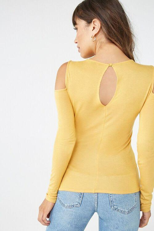 Open-Shoulder Knit Top, image 3