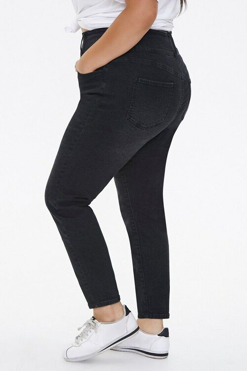 Plus Size Curvy-Fit Skinny Jeans, image 3