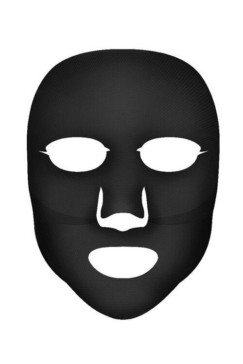 Black Charcoal Pore-Minimizing Hydrogel Mask, image 3