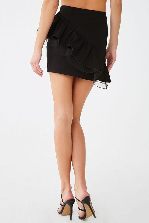 Tiered Flounce Mini Skirt, image 3