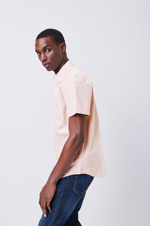 Fitted Embroidered Flower Pocket Shirt, image 3