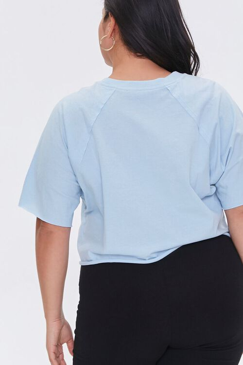 Plus Size Cropped Tee, image 3