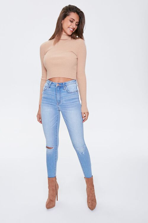Distressed High-Rise Jeans, image 4