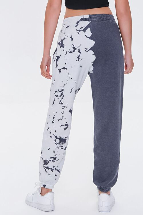 CHARCOAL Fleece Bleach Dye Joggers, image 4