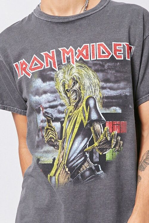 CHARCOAL/MULTI Iron Maiden Graphic Tee, image 5