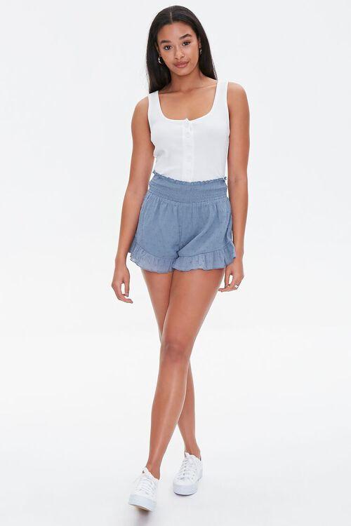 Ruffle-Trim High-Rise Shorts, image 5