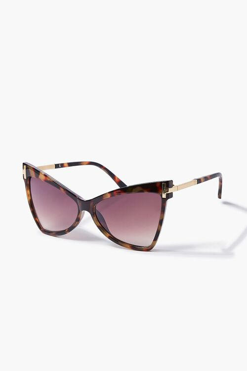 Tortoiseshell Cat-Eye Sunglasses, image 2