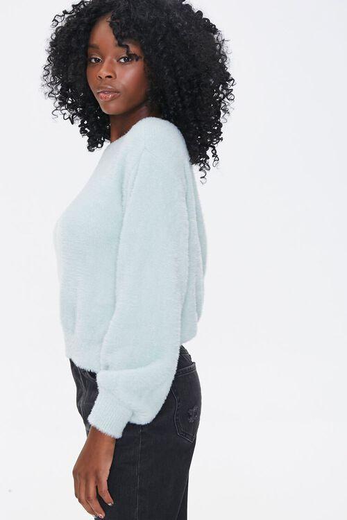 Plush Twist-Back Sweater, image 3