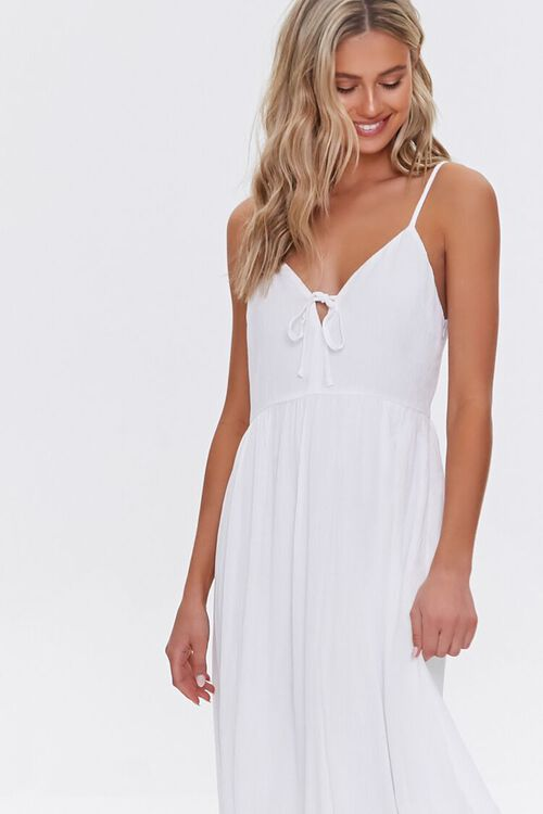 Plunging Maxi Cami Dress, image 4