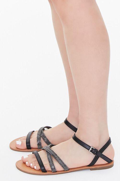 Rhinestone Strappy Sandals, image 2
