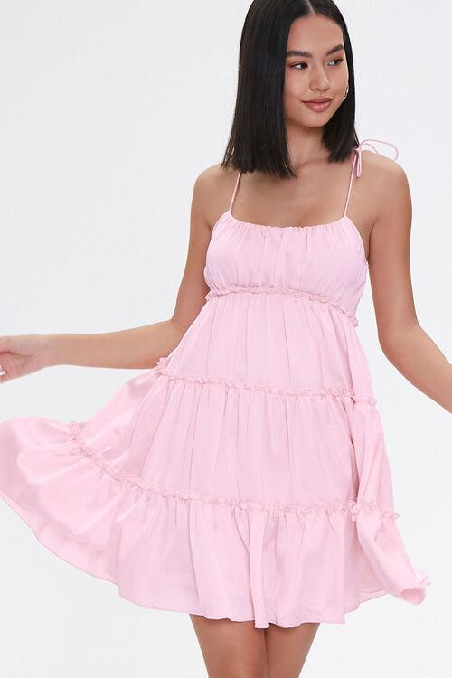 Tiered Mini Cami Dress, image 1
