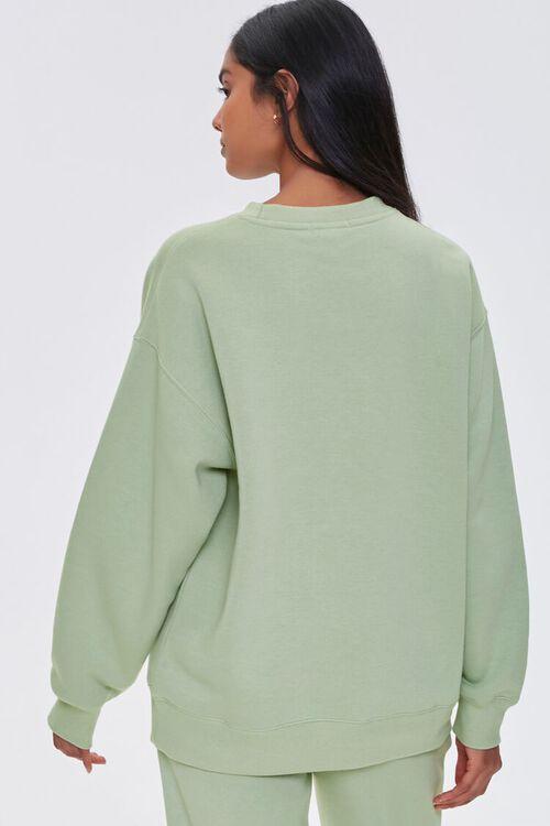 Basic Fleece Crew Pullover, image 3