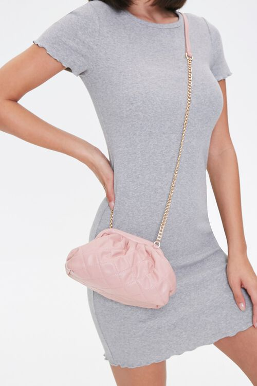 Quilted Crossbody Pouch, image 1