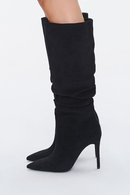 Slouchy Stiletto Knee-High Boots, image 2