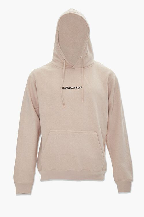 Thank God Embroidered Graphic Hoodie, image 4