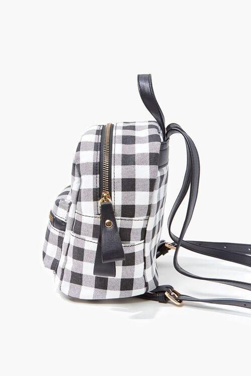 Buffalo Plaid Mini Backpack, image 2