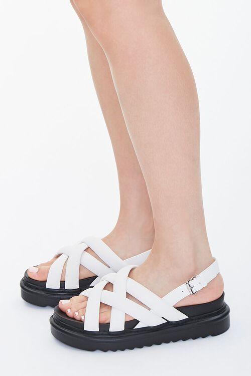 Strappy Flatform Sandals, image 2