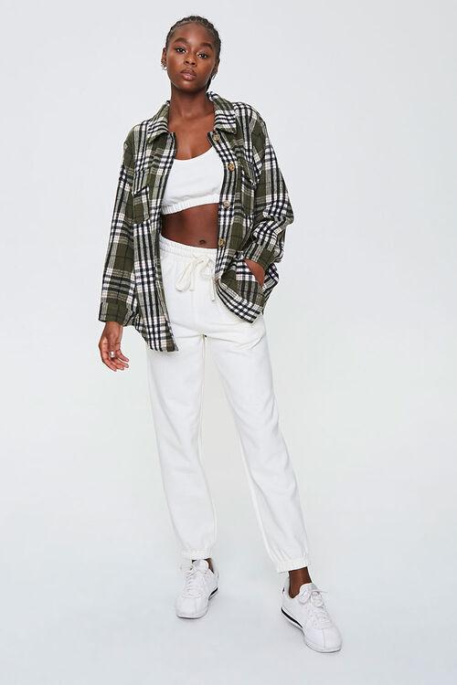 Plaid Button-Front Jacket, image 4