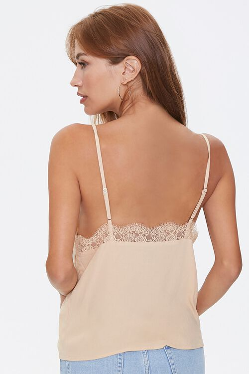 MUSTARD Relaxed Lace-Trim Cami, image 3