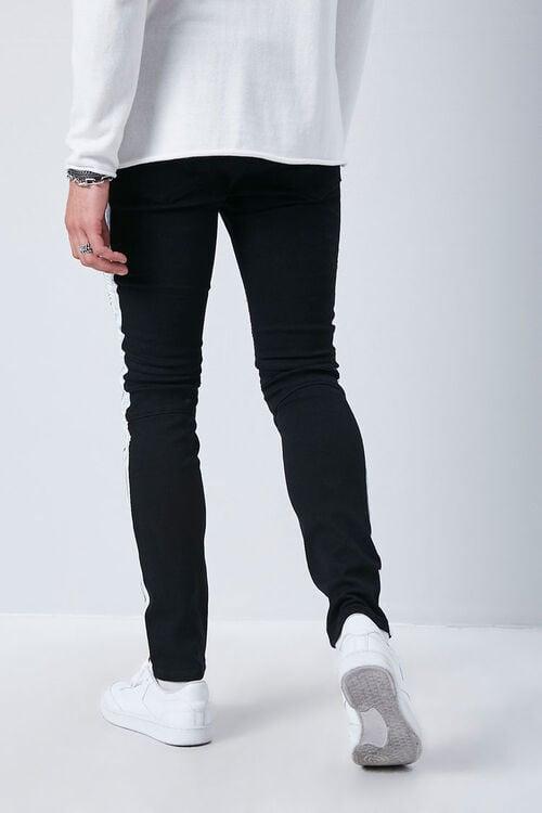 Side-Striped Skinny Jeans, image 4