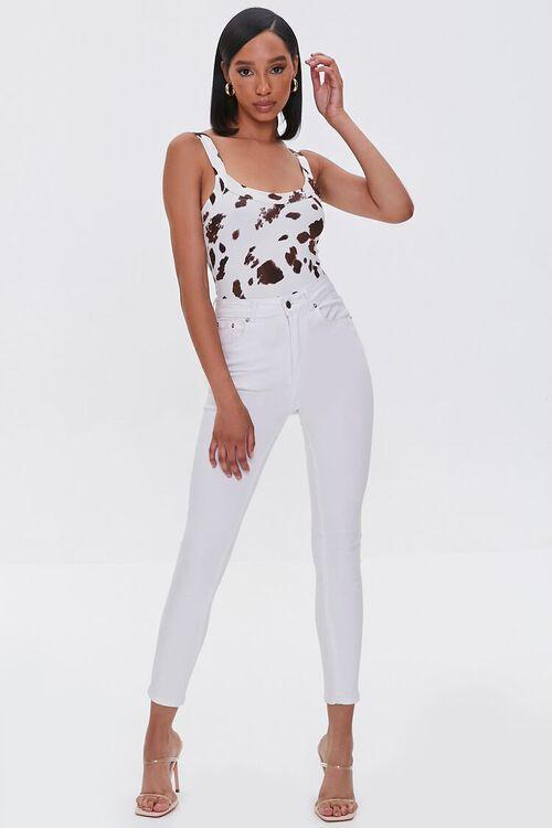 Cow Print Bodysuit, image 4