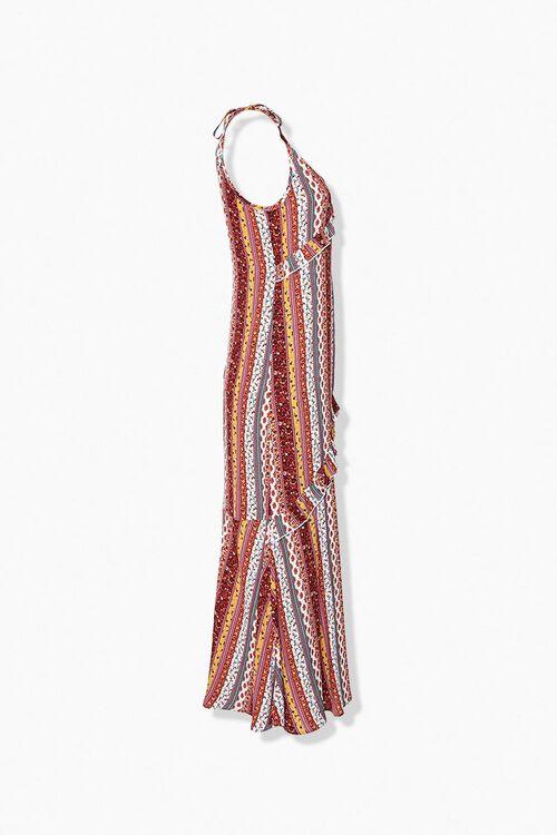 Floral Ruffle Maxi Dress, image 2