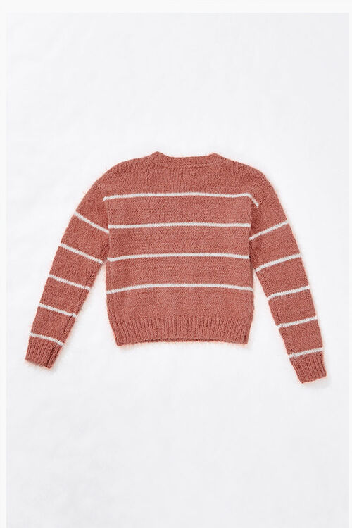 Girls Striped Sweater (Kids), image 2