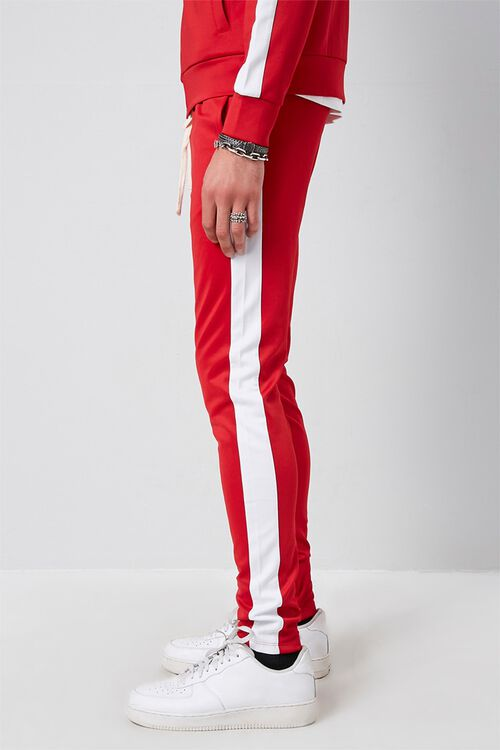 Ankle-Zip Side-Striped Sweatpants, image 3