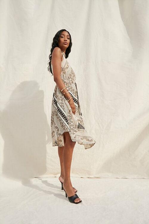 Ornate Patchwork Print Dress, image 1