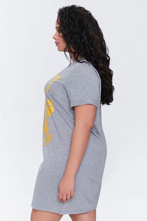 Plus Size Liberty T-Shirt Dress, image 2