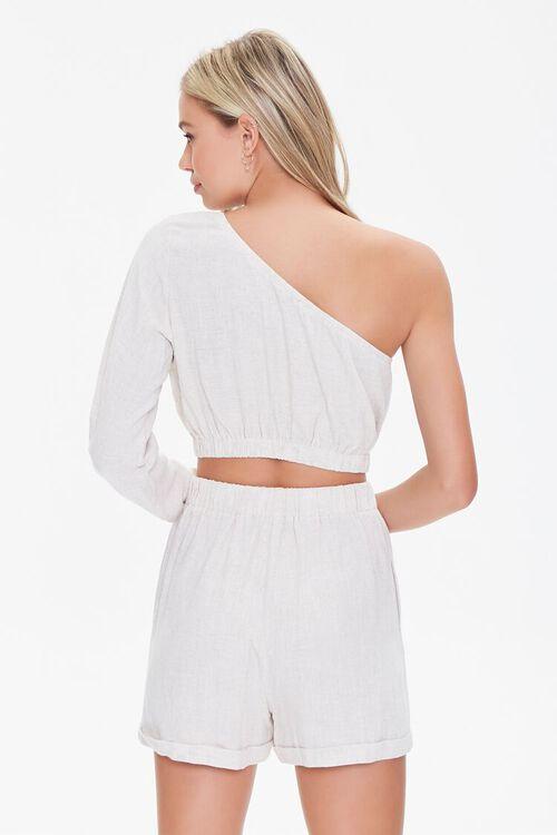 One-Shoulder Top & Shorts Set, image 3