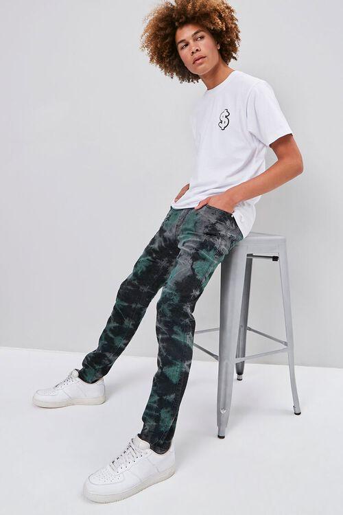 Cloud Wash Straight-Leg Jeans, image 1
