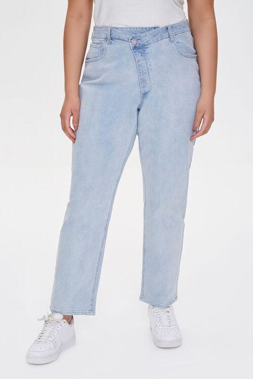 Plus Size Straight-Leg Jeans, image 2