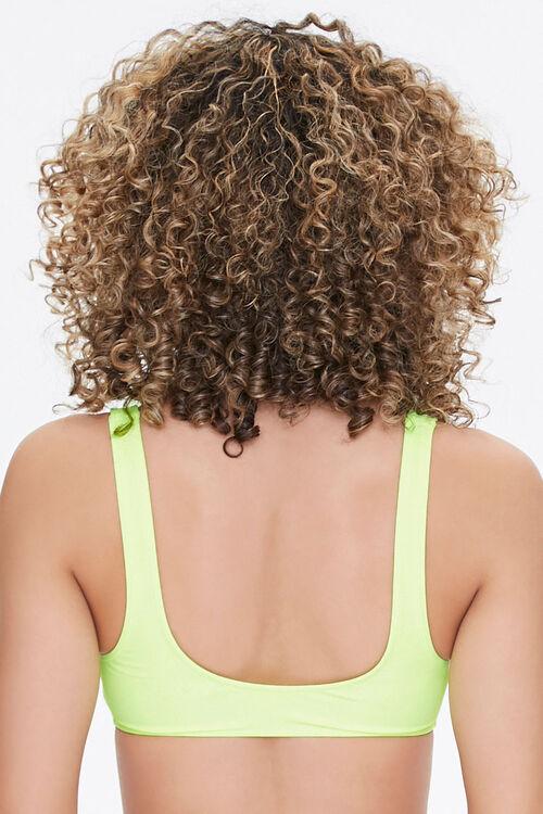 Zip-Up Bralette Bikini Top, image 3