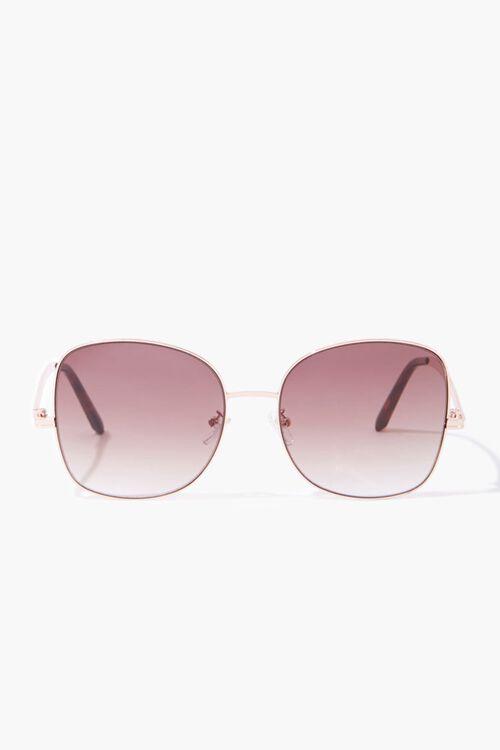 Square Tinted Sunglasses, image 1