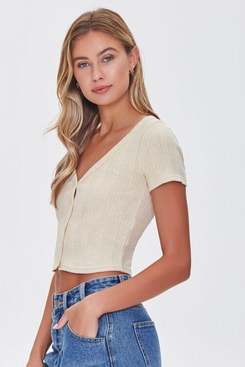 Short-Sleeve Cropped Cardigan, image 2