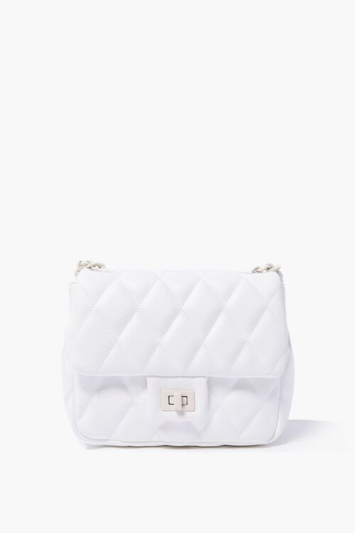 Quilted Square Crossbody Bag, image 1