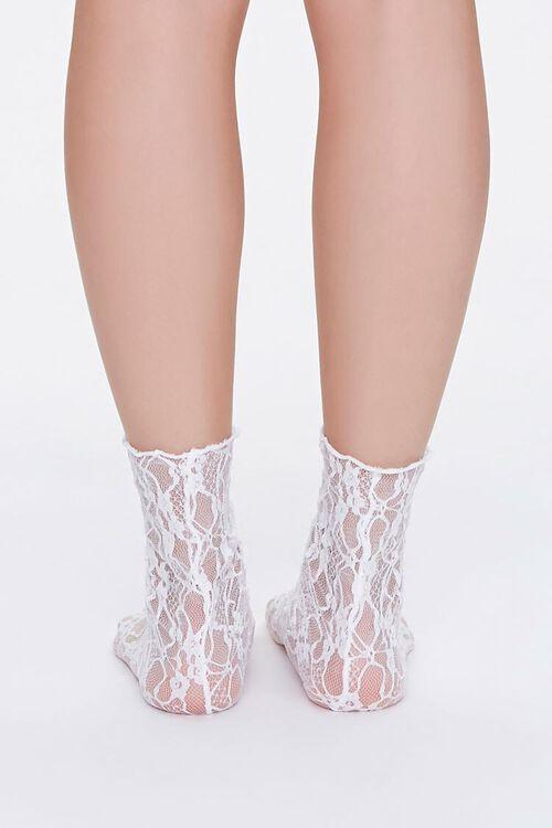 Sheer Mesh Crew Socks, image 3