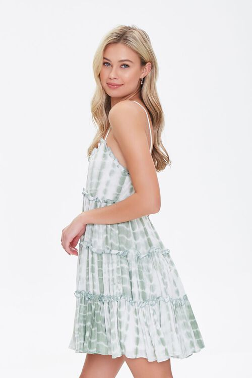 Tie-Dye Fit & Flare Dress, image 2