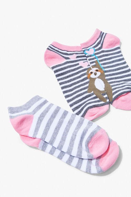 Sloth Ankle Socks, image 1