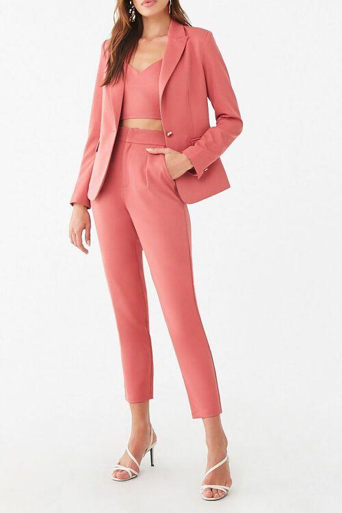 Cropped Dress Pants, image 1