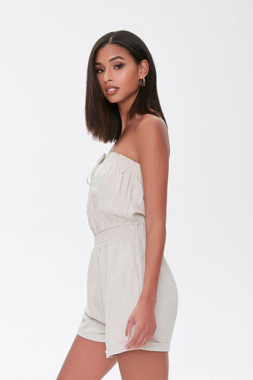 Kendall & Kylie Linen-Blend Romper, image 3