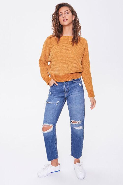 Chenille Boat Neck Sweater, image 4