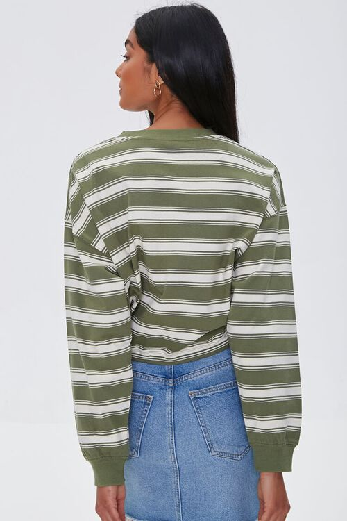 NYC Graphic Striped Pullover, image 3