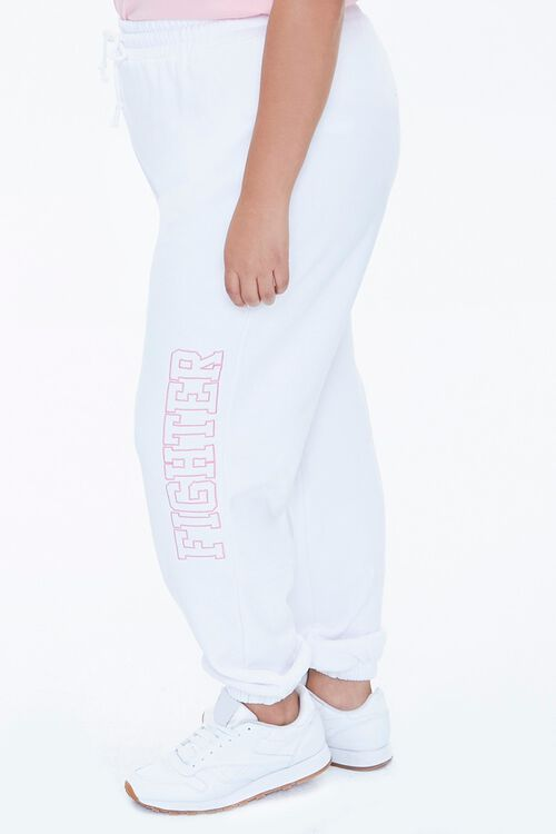 Plus Size Stand Up To Cancer Fighter Joggers, image 3