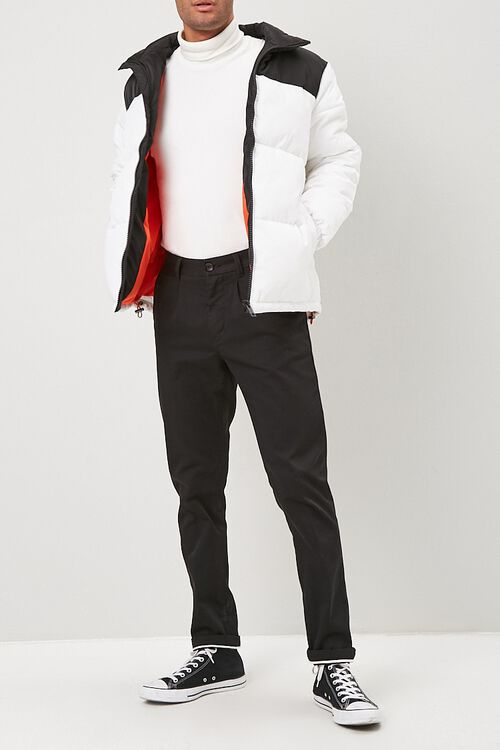 Colorblock Puffer Jacket, image 4