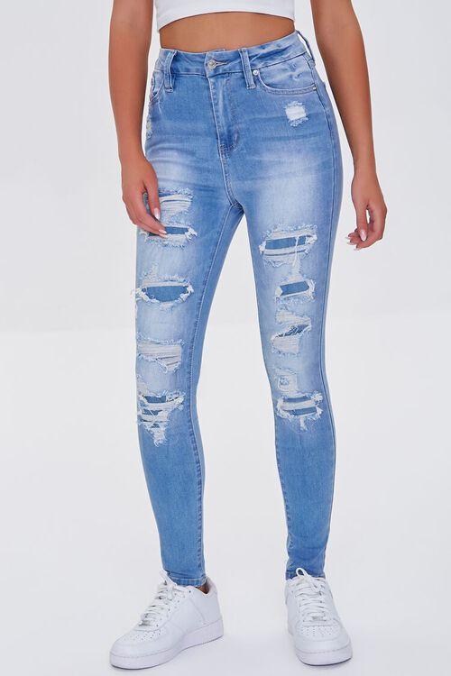 Premium Distressed Curvy Jeans, image 2