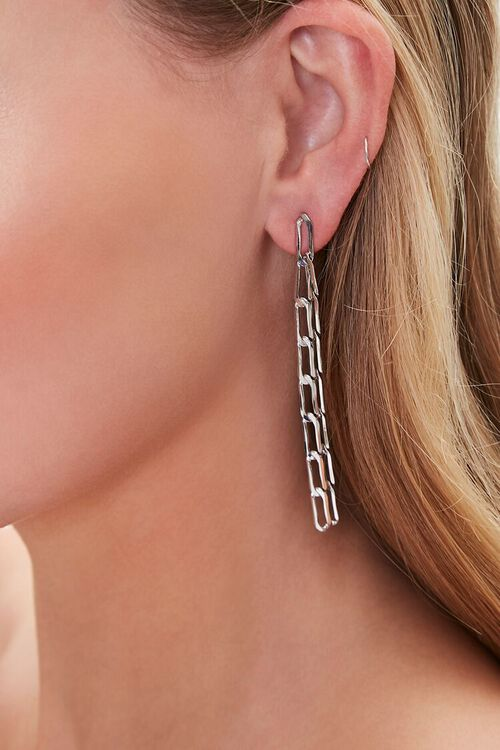 Anchor Chain Duster Earrings, image 1
